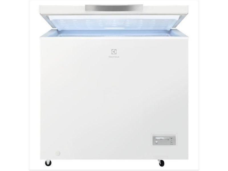 Congélateur coffre 198l froid statique electrolux 91cm a+, ele7332543721634 ELE7332543721634