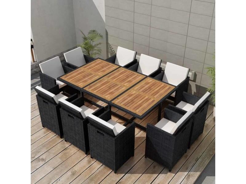 Meubles de jardin famille manama mobilier de jardin 31 pcs ...