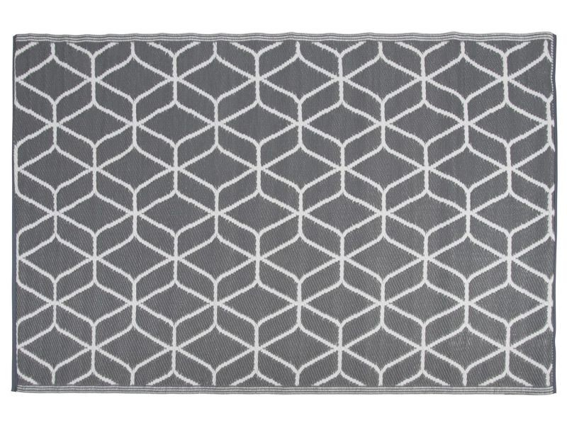Tapis de jardin en polypropylène à motifs