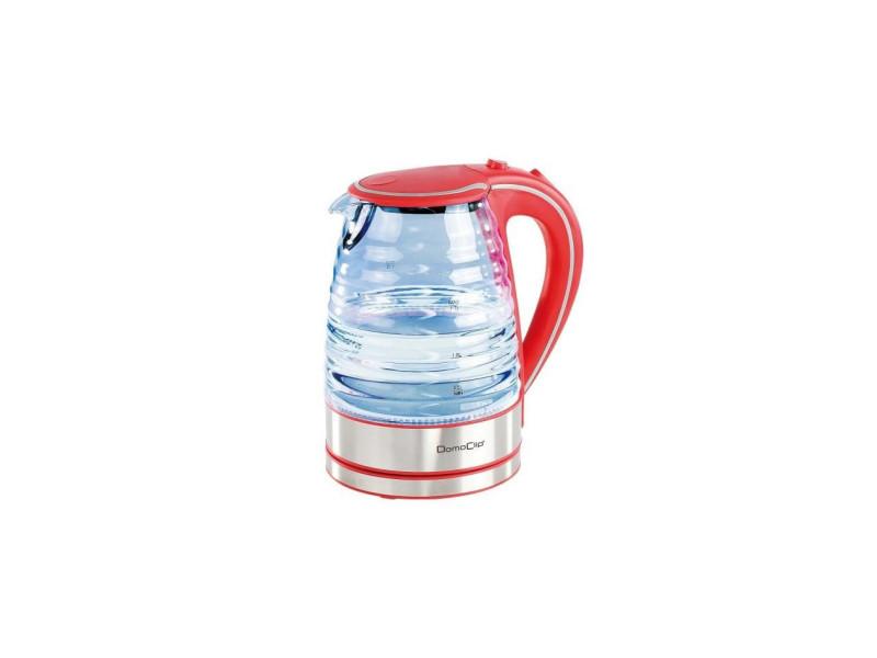 Domoclip dod128r bouilloire electrique - rouge DOM3523930080135