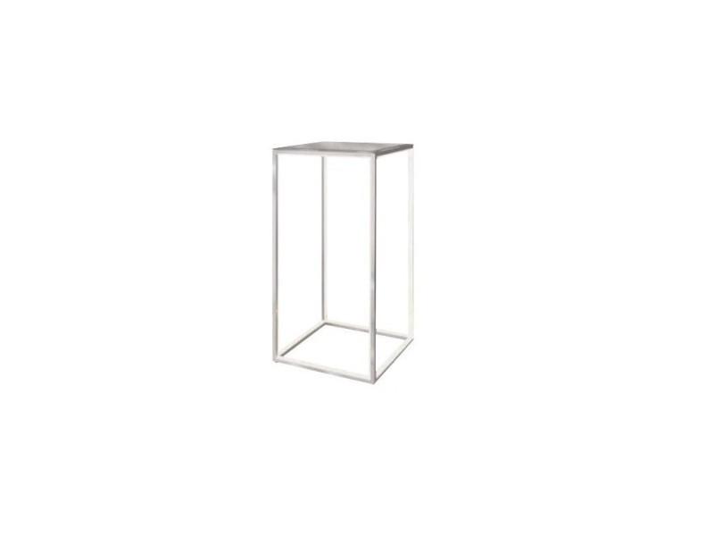Table d'appoint design leds aluminium delux