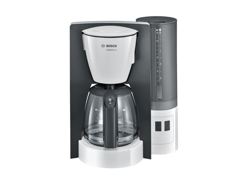 Bosch comfortline tka6a041 - cafetière - 15 tasses - blanc/gris foncé BOS4242002874340