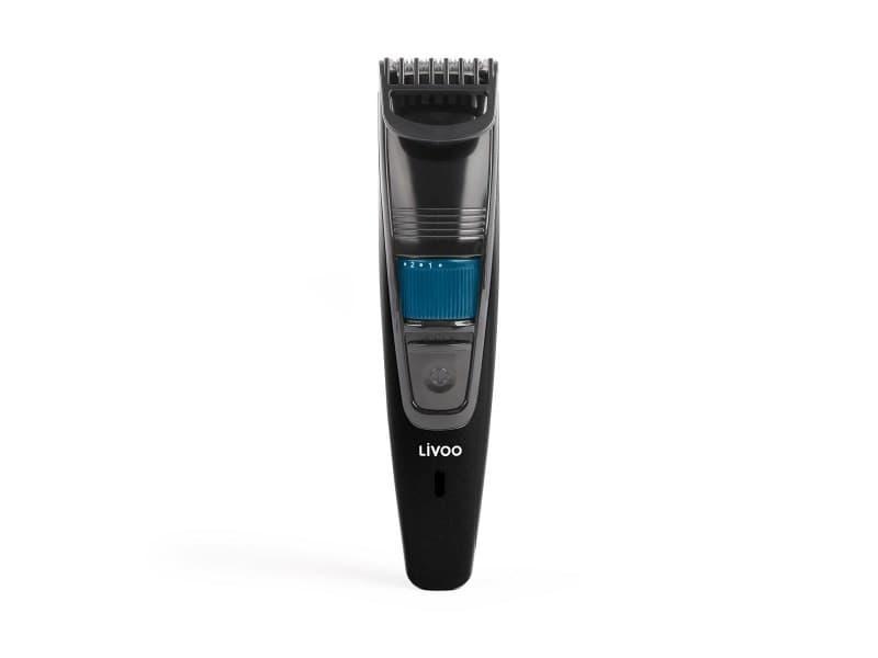 Tondeuse à barbe rechargeable, 20 longueurs possibles, utilisation avec ou sans fil