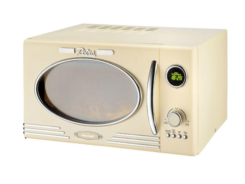 Efbe schott mw2500dg - four micro-ondes grill creme - 25 l - 900 w - grill 1000 w - pose libre