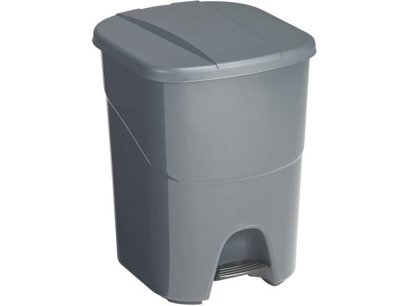 Poubelle à pédale double compartiment 40 litres
