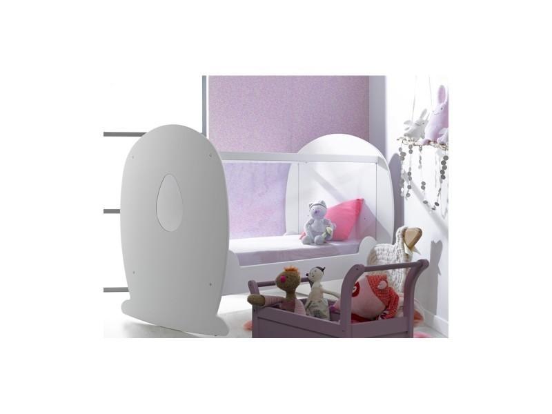 lit b b lutin plexiglas vente de chambrekids conforama. Black Bedroom Furniture Sets. Home Design Ideas