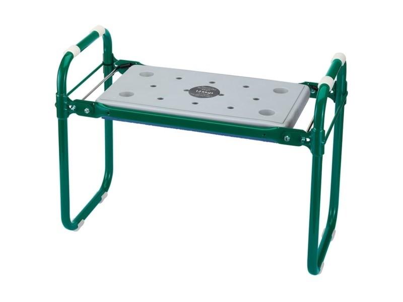 Draper tools siège/agenouilloir pliant de jardin, fer vert 64970 415129