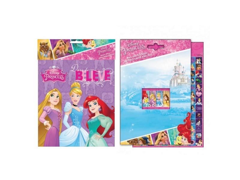 Album 960 Stickers Princesse Autocollant Disney Enfant Vente De