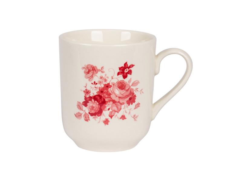 Mug 37 cl lilly rose (lot de 6)