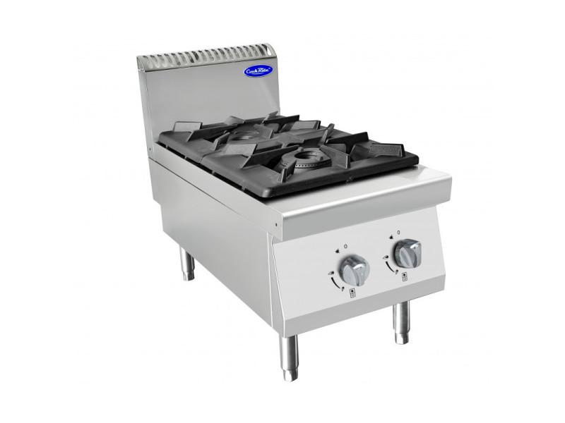Piano de cuisson gaz professionnel série 900 - 2 feux à poser - atosa -