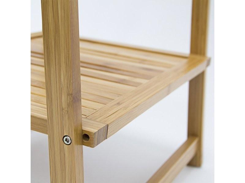 portant v tements en bambou penderie porte manteaux rangement 159 cm helloshop26 2013108. Black Bedroom Furniture Sets. Home Design Ideas
