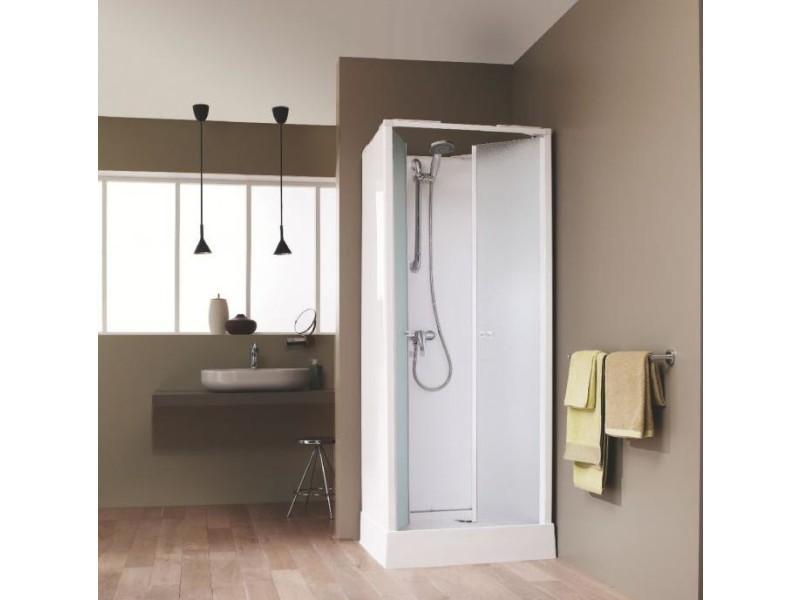 leda cabine de douche int grale surf 4 porte battante. Black Bedroom Furniture Sets. Home Design Ideas