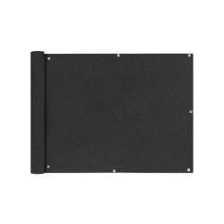 Vidaxl écran de balcon en tissu oxford anthracite 90x400 cm