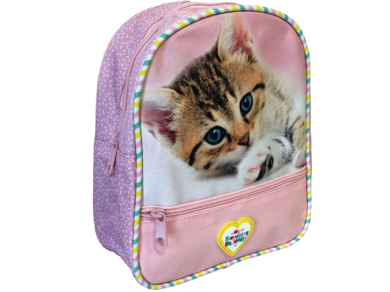 Petit sac à bretelles maternelle chaton