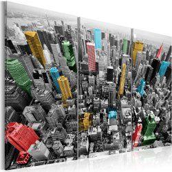 Tableau triptyque - new york - impression en cmyk - dimension - 60x40