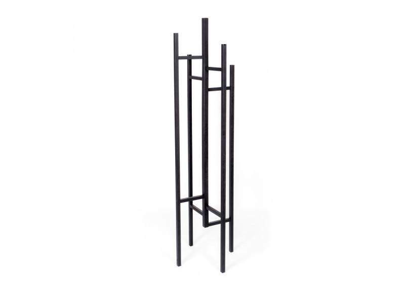 Eigen - porte-manteaux design bois massif - couleur - noir 117349001162