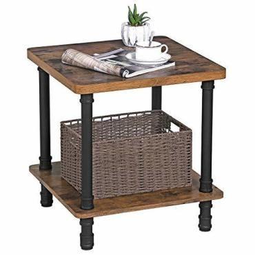 Table d 39 appoint de style industriel table de chevet Table de chevet style industriel