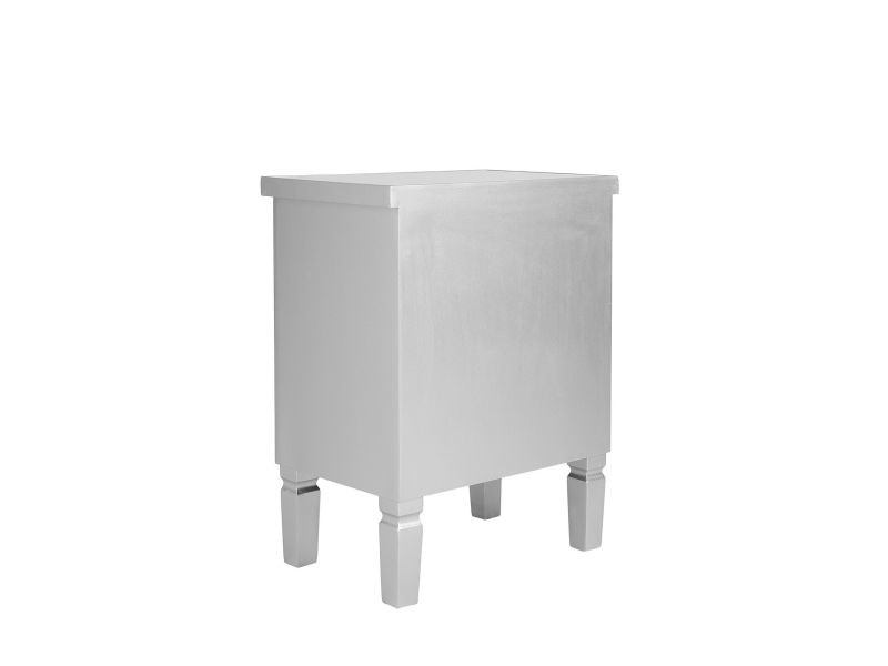 Table De Chevet Effet Miroir Tigy 142222 Vente De Beliani