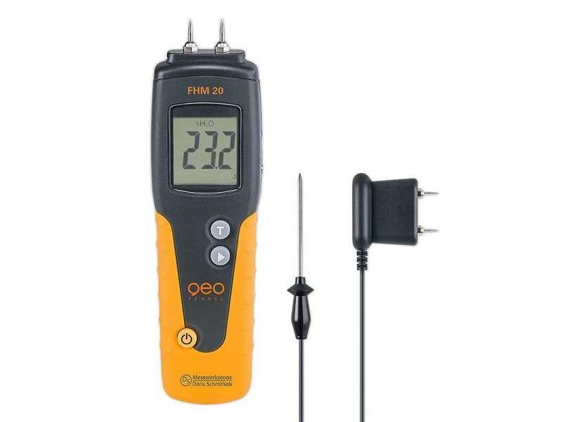 Geo fennel - détecteur d'humidité professionnel à pointes - fhm 20