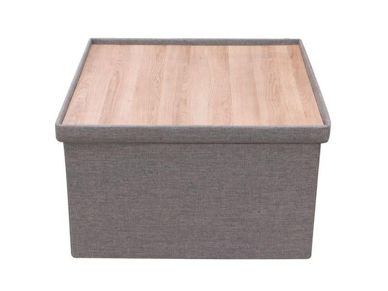 Coffre rangement xxl pouf réversible table basse