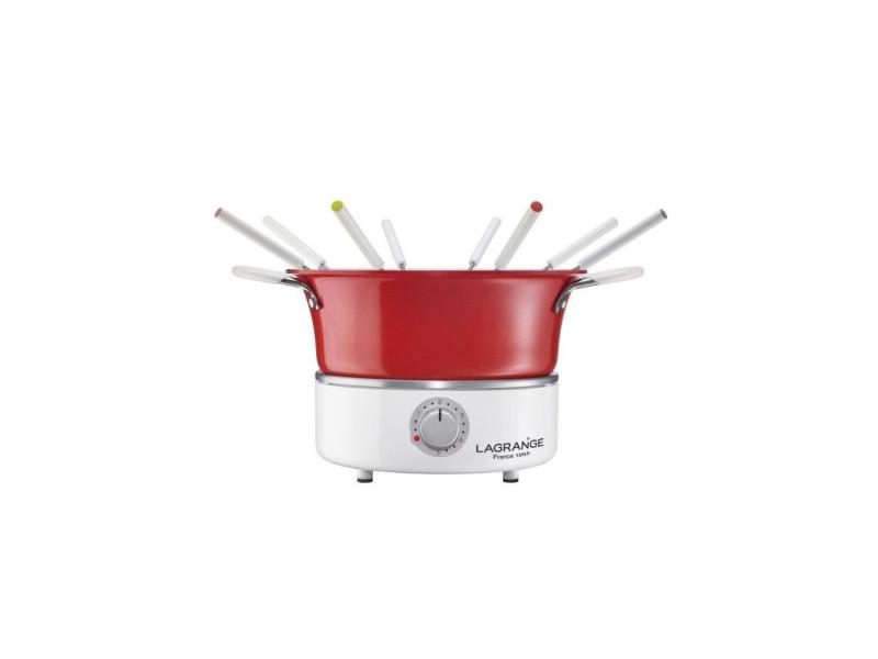 Lagrange fondue festiv avec ramequin - 900w - 8 fourchettes a fondue - caquelon 1,2l LAG3196203492029