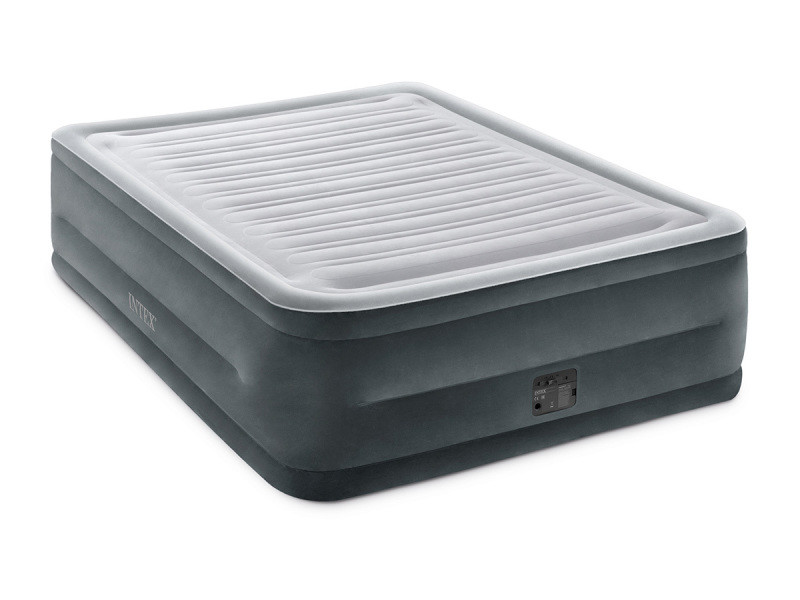 Matelas gonflable comfort plush fiber tech 2 places h. 56 cm - intex