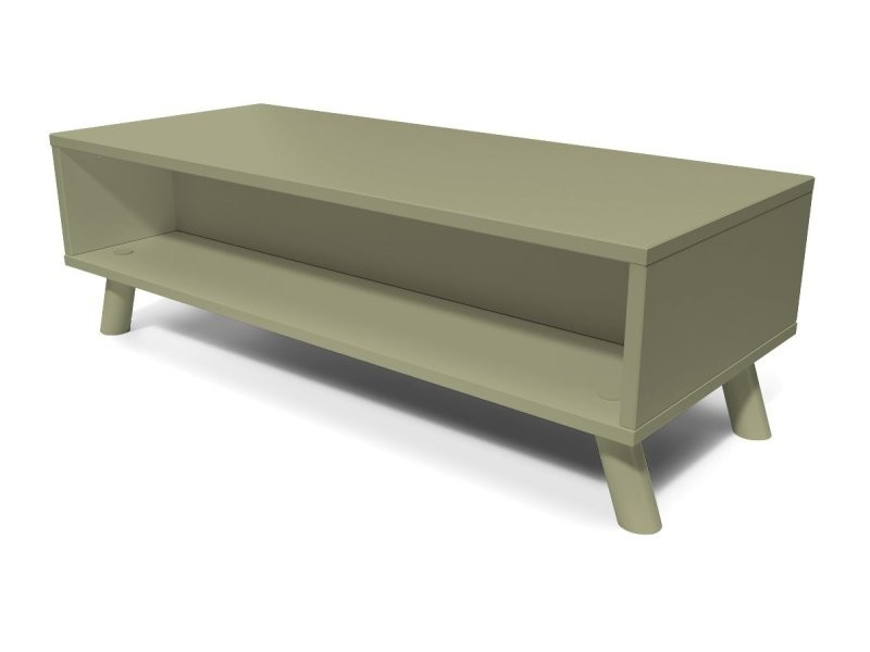 Table basse scandinave rectangulaire viking bois taupe VIKINGTABLB-T