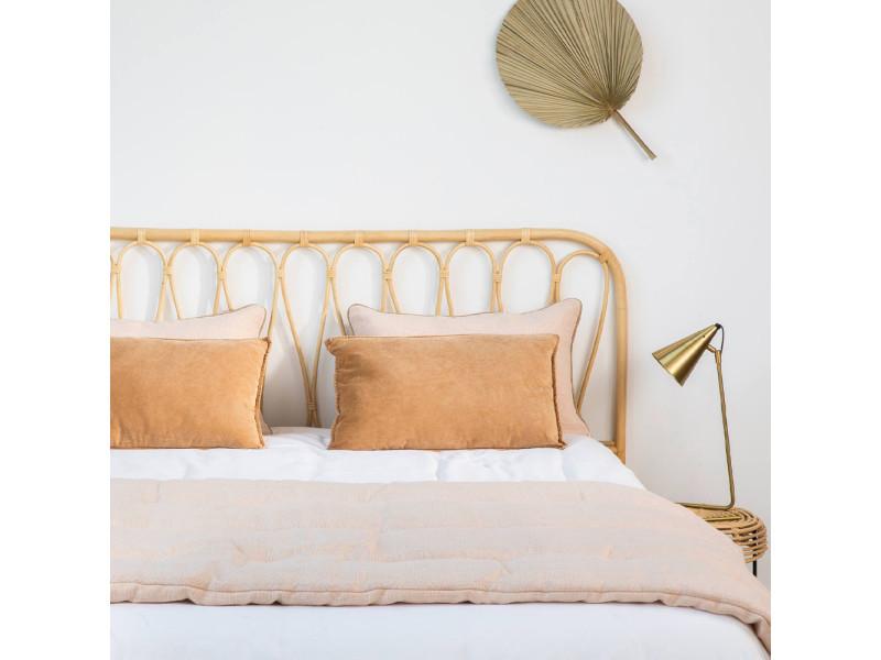 Atilan - tête de lit en rotin - couleur - naturel DRA001 ...