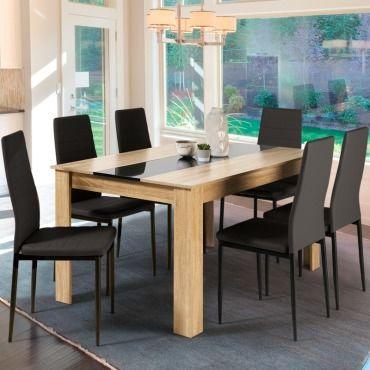 manger marron à de bois mdf et en Table salle design WEYeHD29I