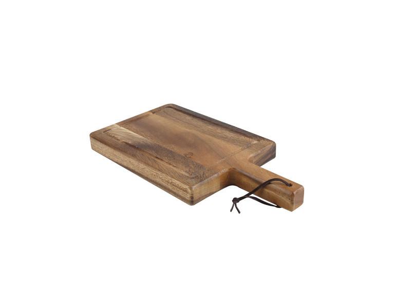 Planche avec poignée en acacia 35x18 cm