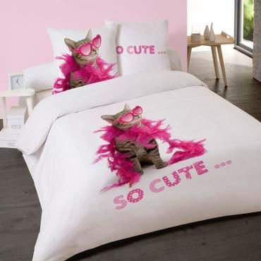 Housse de couette 220x240cm so cute
