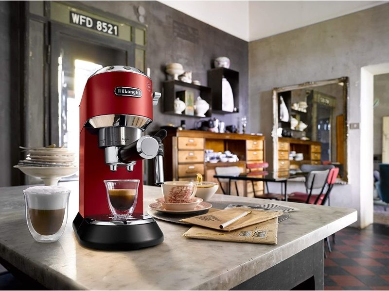 Machine expresso de 1l 1350w rouge
