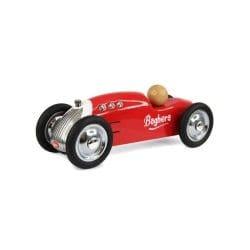 Petite voiture en métal rocket rouge