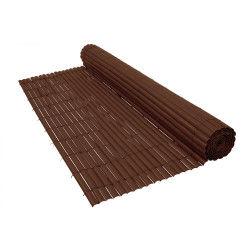 Canisse pvc 900 g/m² marron - 1 x 3 mètres