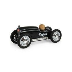 Petite voiture en métal roadster noire