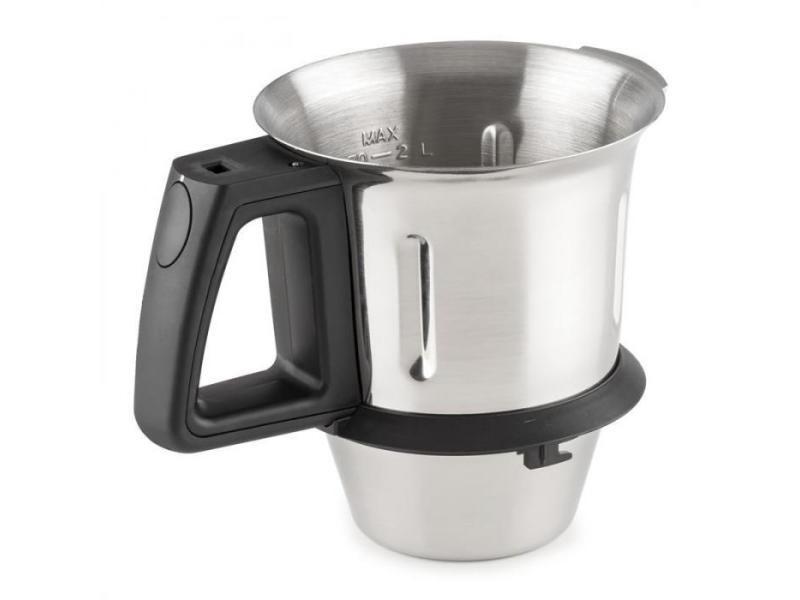 Kitchen hero bol de cuisson de rechange pour robot de cuisine 2l inox