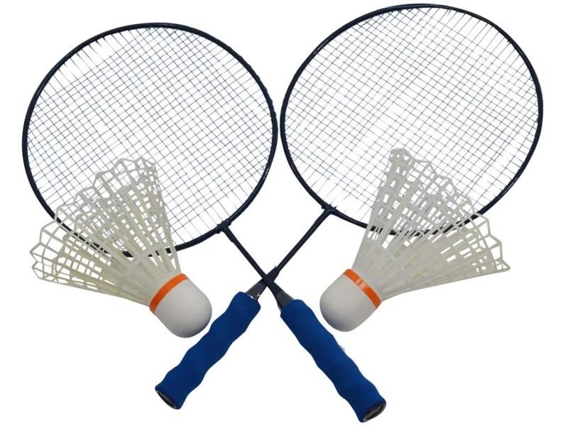 Raquettes de badminton géantes avec volants
