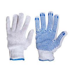 Outifrance - gants de manutention tricotés en polyester et coton