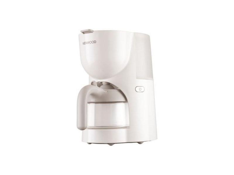 Kenwood cafetière filtre 6 tasses blanche cm200 - Vente de ...