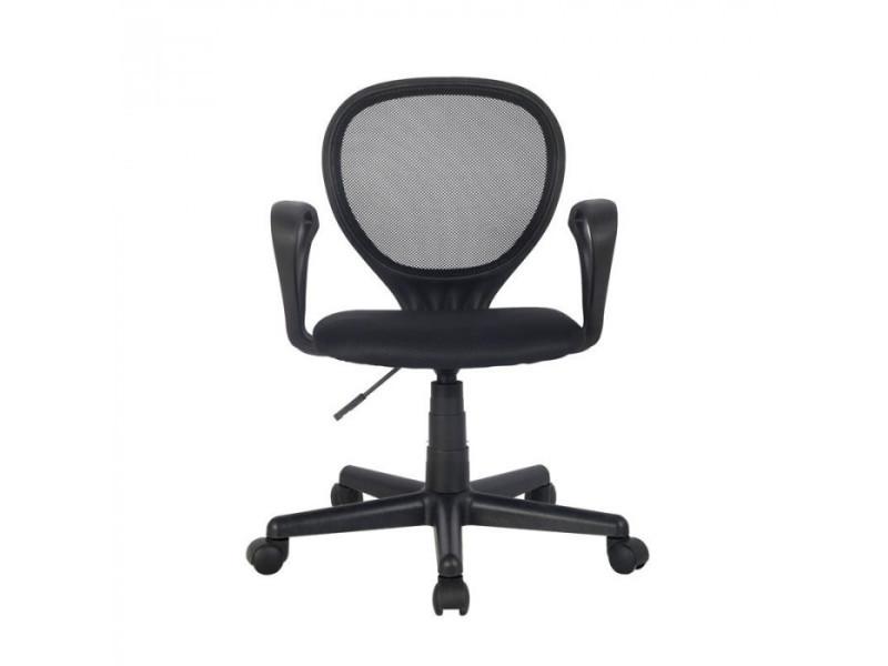 Chaise de bureau zoe noire vente de fauteuil de bureau conforama