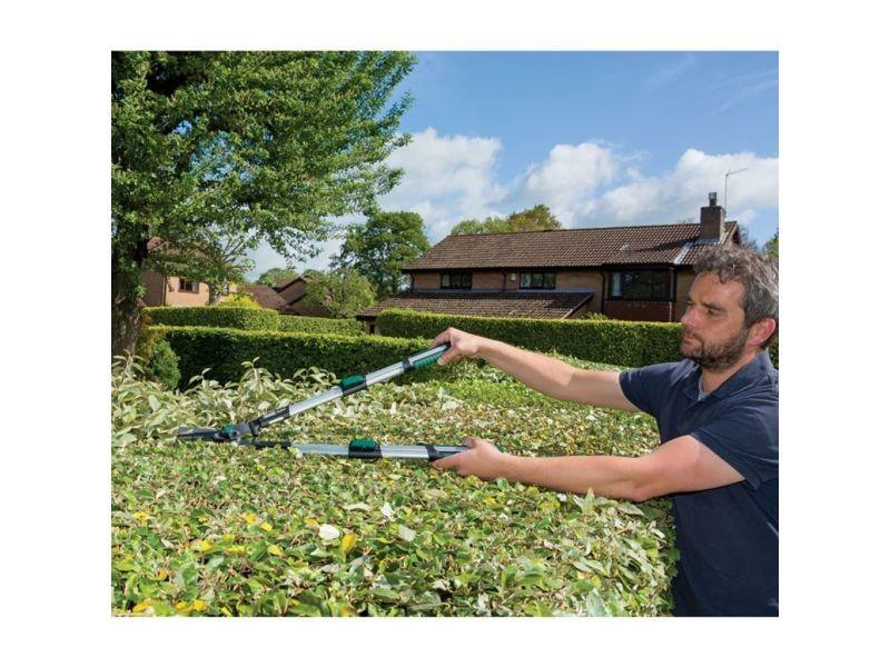 Icaverne - sécateurs reference draper tools cisailles télescopiques de jardin 85 cm 36780