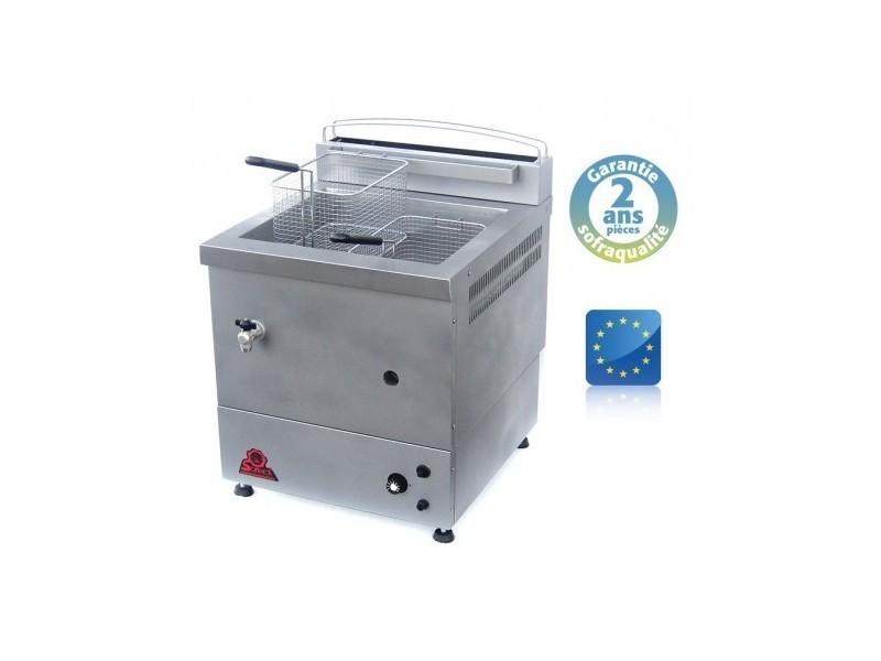 Friteuse foraine gaz - spéciale surgelés - 10 litres - gaz naturel - sofraca