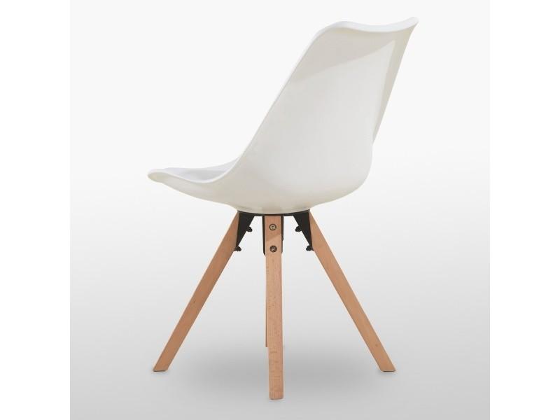 HOME blanche Chaise scandinave sofia Vente de DESIGN EWDH29I