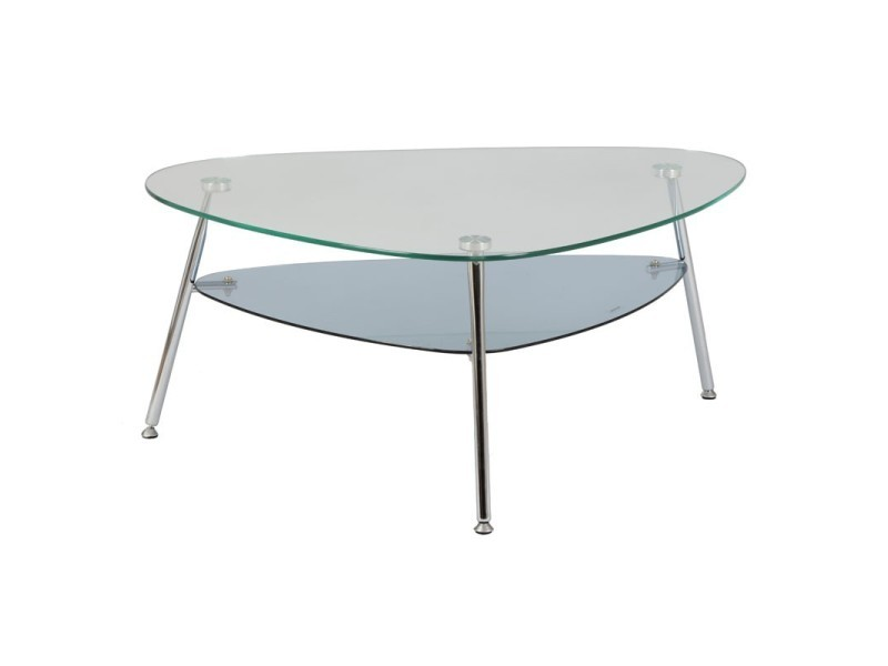 Table en verre conforama top grande table basse bois et verre table basse design pas cher table for Grande table de salon en verre