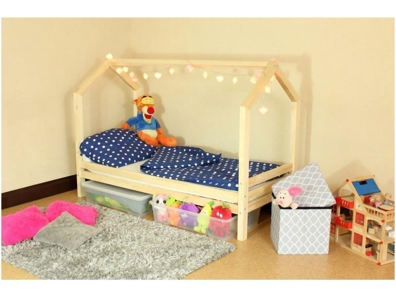 lit cabane r 90x190 sommier vente de monlitcabane conforama. Black Bedroom Furniture Sets. Home Design Ideas