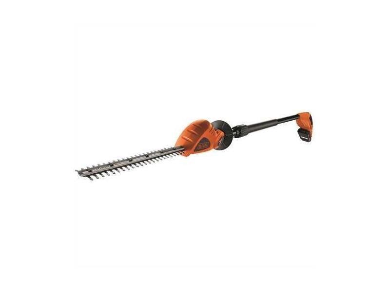 Black + decker gtc1843l20 taille-haies sans fil 500 w 18 v rouge / orange 43 cm GTC1843L20-QW
