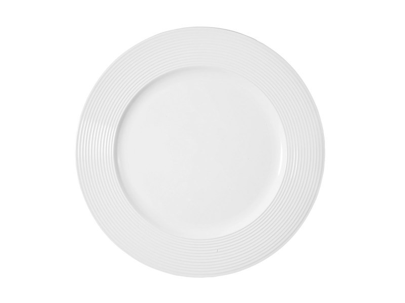 Dessous d'assiette blanc laquée
