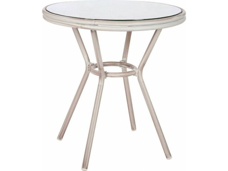 Table d'appoint hilda aluminium australind 62005