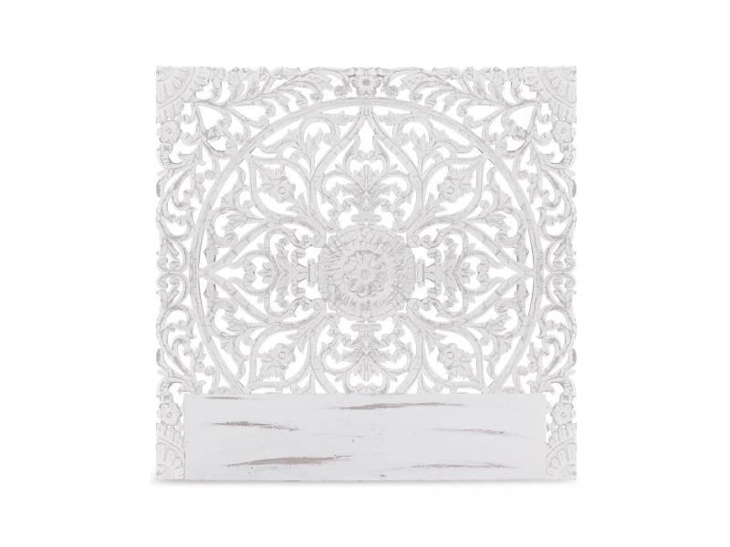 Tête de lit serena 140cm bois blanc