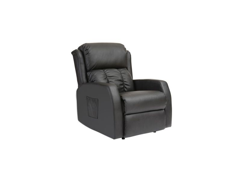 fauteuil relax lectrique massant noir galler vente de fauteuil relaxation et releveur conforama. Black Bedroom Furniture Sets. Home Design Ideas